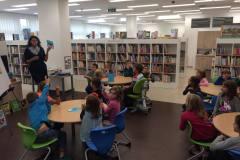 Návštěva knihovny - O etiketě
