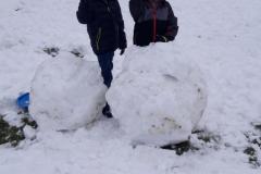Sněhové řádění