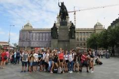 Výlet 9.A a 9.B v Praze