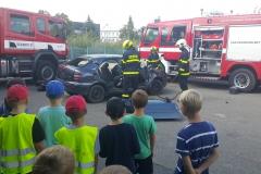 Návštěva hasičů v pátek 13.